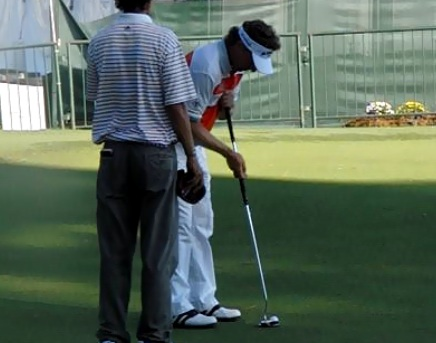 Bernhard Langer Putting
