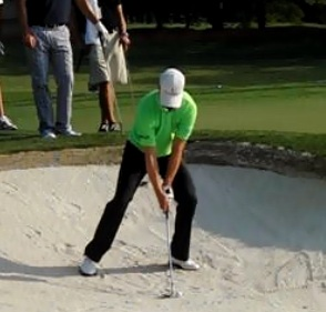 zach johnson bunker shot