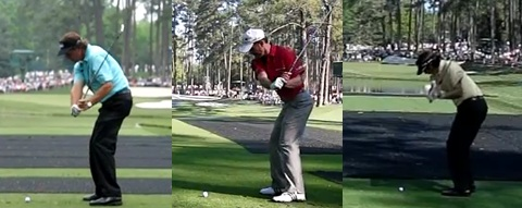 left handed golfers