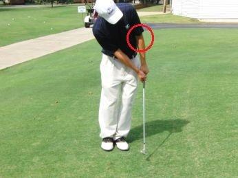 chipping golf